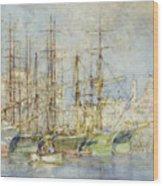 Genoese Shipping Wood Print
