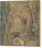 Genoveva                                    Wood Print