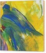 Gentle Fingers    Gentle Bird Wood Print