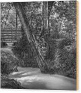 Gentle Flow Wood Print