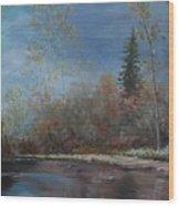 Gentle Stream - Lmj Wood Print