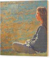 Gentle Sunshine Wood Print