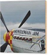 Gentleman Jim Wood Print