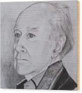 Gentleman Wood Print