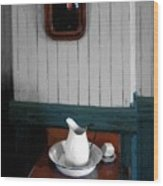 Gentleman's Washstand Wood Print