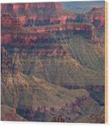 Geological Formations North Rim Grand Canyon National Park Arizona Wood Print