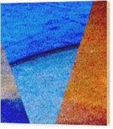 Geometric 2b  Abstract Wood Print