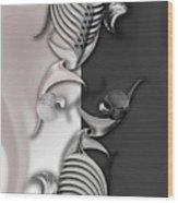 Geometric Approach Wood Print