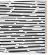 Geometric Art 276 Wood Print