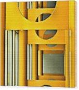 Geometric Parity II Wood Print