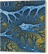 Geometric Patterns No. 47 Wood Print