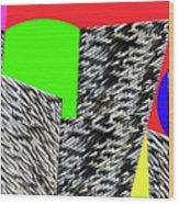 Geometric Shapes 4 Wood Print