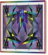 Geometrics1 Wood Print
