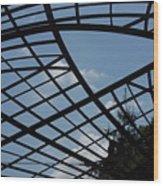 Geometry Wood Print