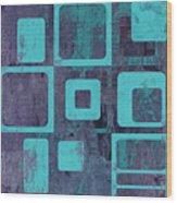 Geomix 02 - Sp06c6b Wood Print