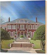 George C Greer House  Wood Print