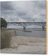 George Coleman Bridge Yorktown, Virginia Wood Print