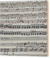 George Frederick Handel Wood Print