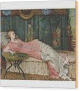 George Hamilton Barrable  Fl  1873  1887  Dolce Far Niente Wood Print