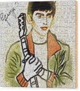 George Harrison - 1 Wood Print