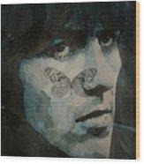 George Harrison @ Butterfly Wood Print