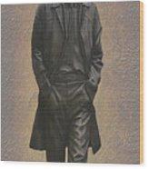 George Harrison N F Wood Print