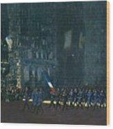 George Luks   Blue Devils On Fifth Avenue   1918 Wood Print