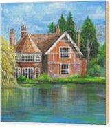 George Michaels Estate In Goring,england Wood Print
