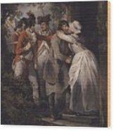George Morland   The Deserters Farewell Wood Print