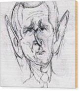 George W. Bush Wood Print