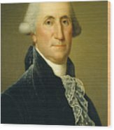 George Washington, 1795 Wood Print