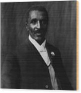 George Washington Carver 1864-1943 Wood Print by Everett