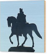 George Washington Monument Philadelphia Wood Print