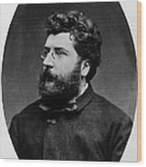 Georges Bizet, French Composer Wood Print