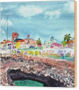 Georgetown Cayman Islands Wood Print