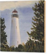 Georgetown Lighthouse Sc Wood Print