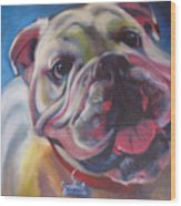 Georgia Bulldog Wood Print