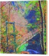 Georgia Gorge Wood Print