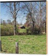 Georgia Landscape Wood Print by Jinx Farmer