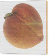Georgia Peach Wood Print