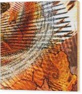 Georgia State Bird B Wood Print