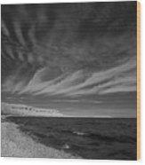 Georgian Bay Infrared Wood Print