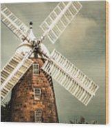 Georgian Stone Windmill  Wood Print