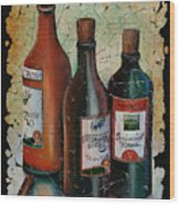 Georgian Wine Fresco Wood Print