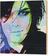 Gerard Way My Chemical Romance  Wood Print