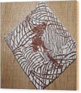 Geras Eye - Tile Wood Print