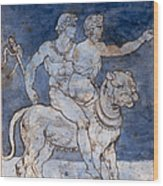 Gericault: Bacchus & Ariadne Wood Print