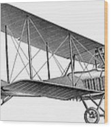 German Airplane, 1913 Wood Print