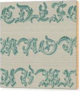 German Arabesque  Wood Print