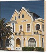 German Colonial Architecture In Swakopmund Wood Print
